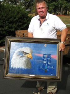 Billy Martin, Blue Ridge District supervisor for Botetourt County, is also an excellent artist. His oil paintings are in great demand.