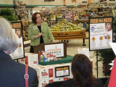 Pamela Irvine, CEO of Feeding America SWVA, speaks about the growing need to feed the region's hungry.