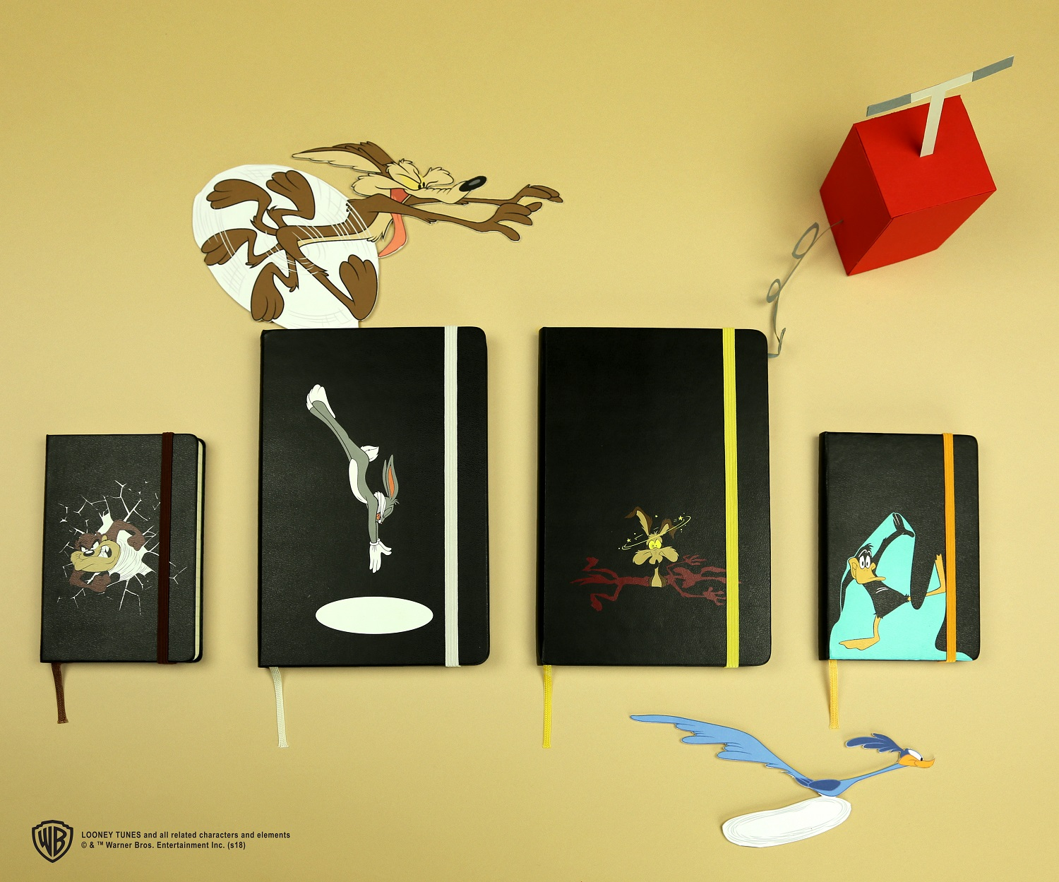 Ya Long-Eared Galoot! Moleskine's Looney Tunes Journals Make All Other  Journals Obsolete - the Roarbots