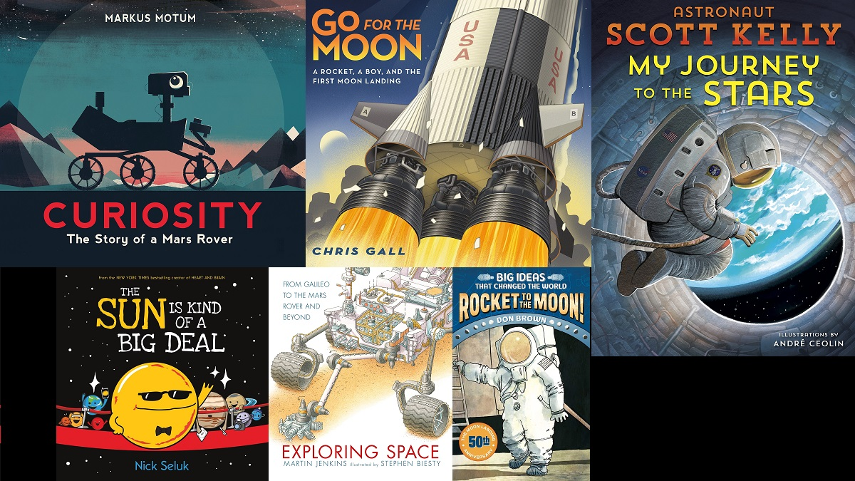 7 Books to Keep the Apollo 50 Excitement Alive and Inspire