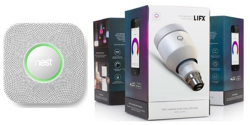 LIFX and Nest