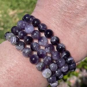 buy chevron amethyst bracelets