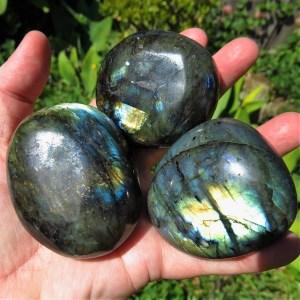 buy Labradorite Pebbles from Madagascar