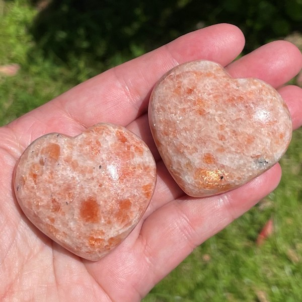 buy Indian sunstone hearts