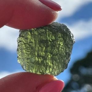 buy real Moldavite tektite crystals from Czech Republic
