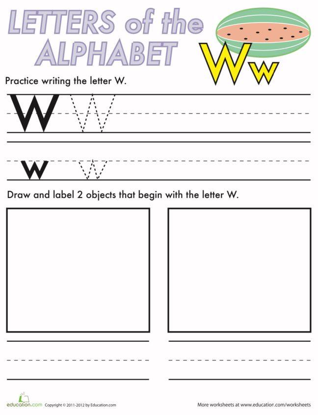LetterWritingW