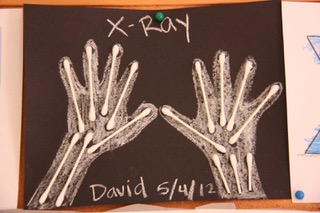 Xray crafts for preschool