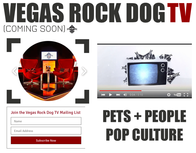 Vegas Rock Dog TV