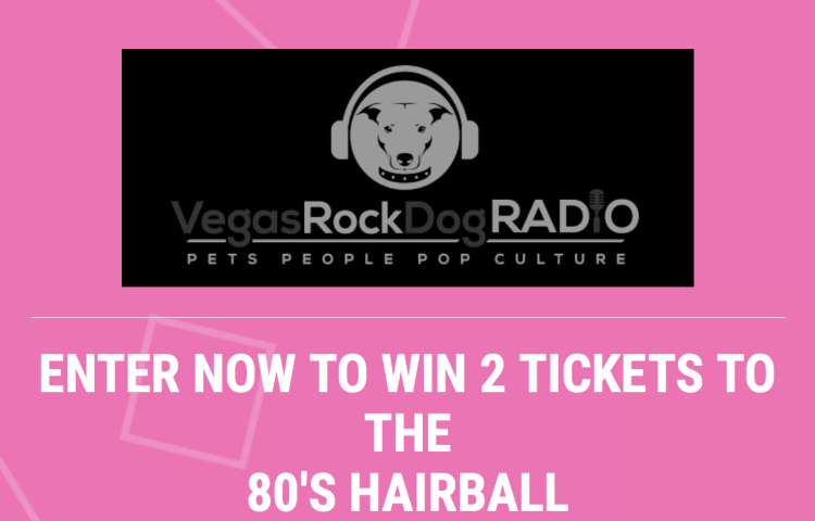 Enter to win tickets to the 80's Hairball