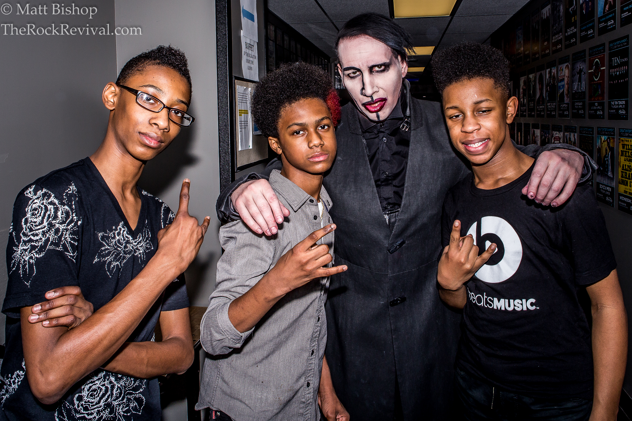"""MARILYN MANSON PERFORMS HIS CLASSIC HIT """"THE BEAUTIFUL"""