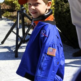 Future astronaut, Connor J, 6