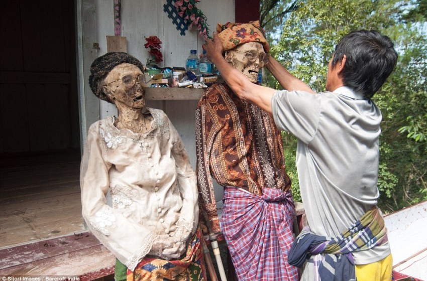 The Ceremony of Cleaning Corpses: Burial Rituals of the Toraja