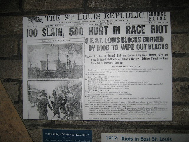 "A History of White ""Race Riots"" in America"