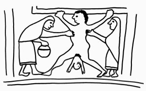 Giving birth in the Iron Age