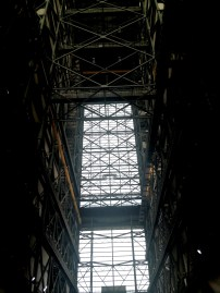 Inside the VAB- we climbed to the 16th flr