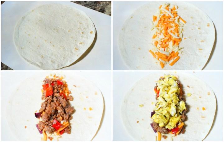 Freezer Friendly Breakfast Burrito - Step 3 - The Rockstar Mommy