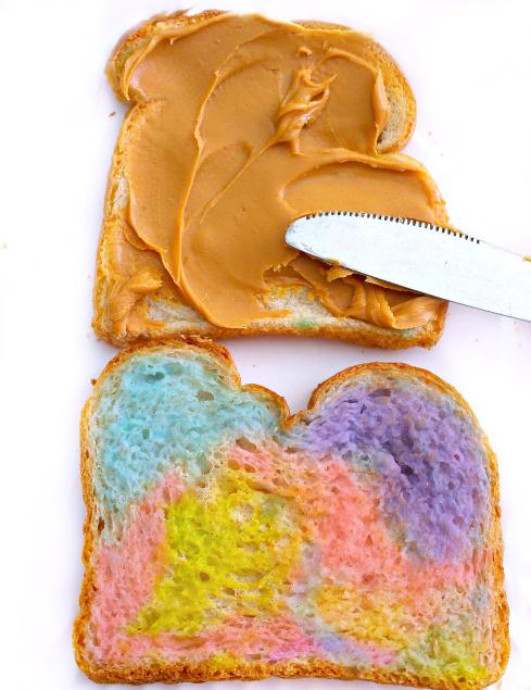 Rainbow Sandwiches - The Rockstar Mommy