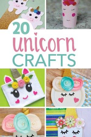 Easy Unicorn Crafts - The Rockstar Mommy