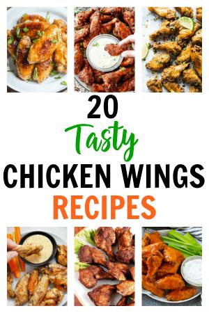 20 Tasty Chicken Wings Recipes