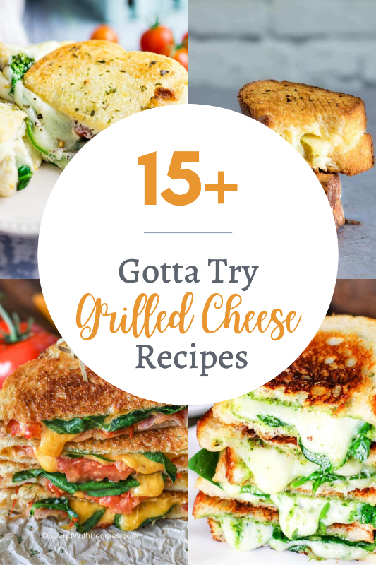 Gotta Try Amazing Grilled Cheese Recipes - The Rockstar Mommy