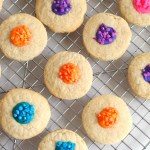 White Chocolate Thumbprint Cookies Recipe - The Rockstar Mommy