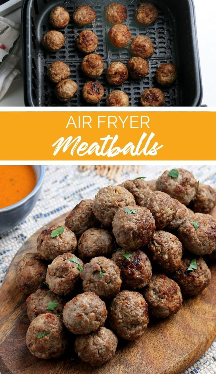 If you enjoy baked meatballs then you are going to LOVE these Air Fryer Meatballs. With just a few simple ingredients, dinner will be ready in minutes.