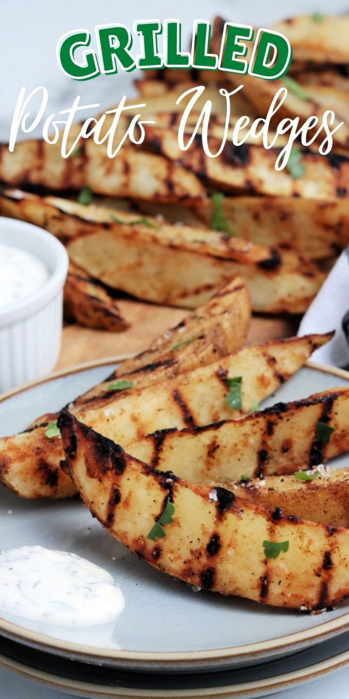 Grilled Potato Wedges aren't tricky to make at all! In fact, in just 15 minutes and with minimal ingredients, you can make crispy grilled potato wedges.