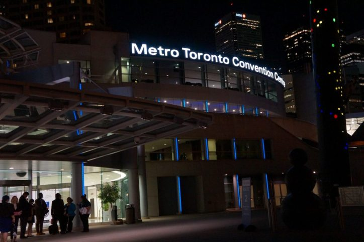 The Metro Toronto Convention Center