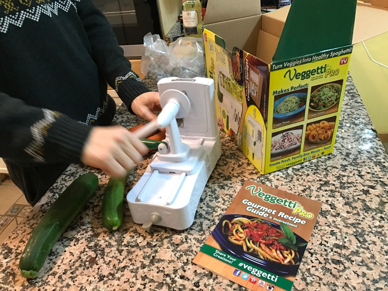 Unboxing the Veggetti Pro