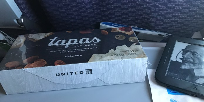 tapas airline food