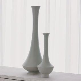 Athos and Edo Vases (Matte Celadon)