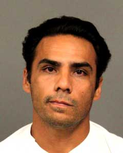Oscar Higueros Jr., volunteer Cayucos fireman arrested on charges of rape.