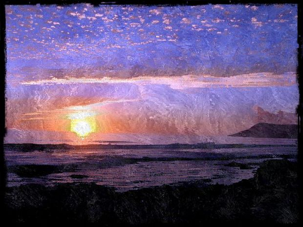 Still, I felt guilty about leaving—until I got out to the road home on Highway 1 where the vistas of Estero Bay shimmering in the noon day sun opened before me in all their splendor. Photo illustration by Stacey Warde