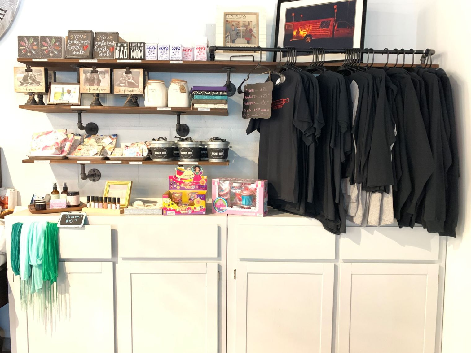 store with merchandise