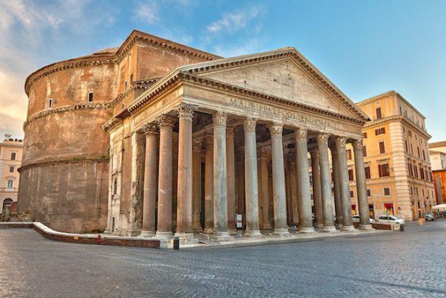 Célèbre Panthéon de Rome, Italie