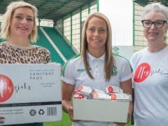 Final whistle blows on period poverty at Hibernian