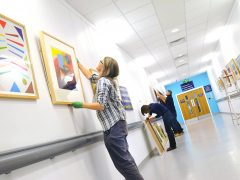 Paintings in Hospitals charity celebrates 60th anniversary