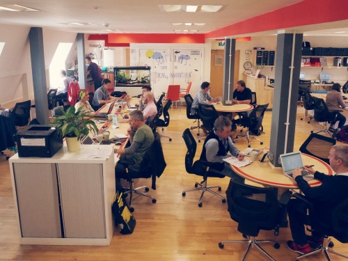 Edinburgh coworking space starts local and goes global