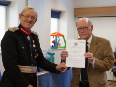 Chiltern Child Contact Centre receive Queen's Award for Voluntary Service