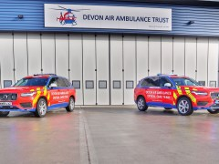 Devon Air Ambulance expands service to patients with two Critical Care Cars
