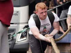 Blind strongman launches appeal for new gym