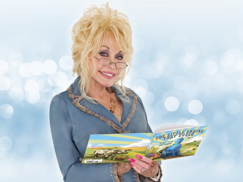 Dolly puts children's reading first