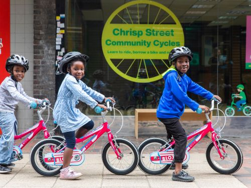 Cycling opportunities in Poplar go up a gear as community cycle hub launches