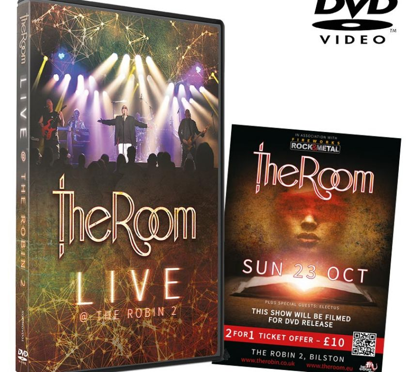 Live DVD (UK, Europe, PAL Region 0)+ signed flyer