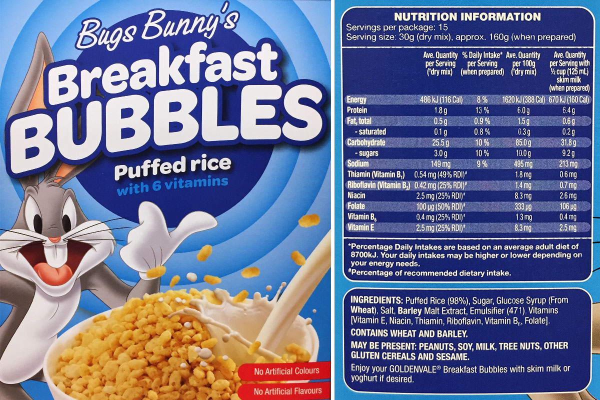 5 Simple Steps To Reading Packet Food Labels