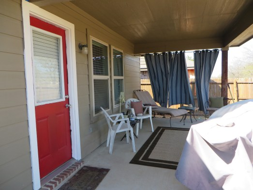 After: covered patio now has some personality!