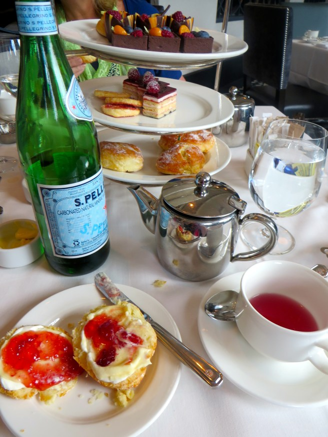 High Tea at The Fairview, Fairmont Chateau Lake Louise