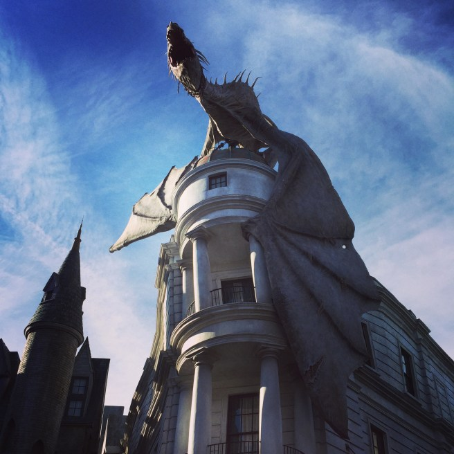 Gringotts at Diagon Alley in Universal Orlando | The Rose Table
