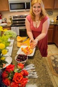 Prosciutto Wrapped Tuscan Cantaloupe | The Rose Table