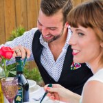 Enjoying the Summer Garden Party | The Rose Table